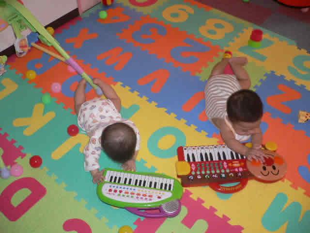Babys at playzone