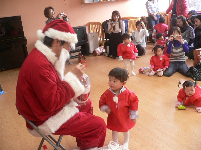 サンタさんよりプレゼント