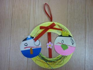 雛祭りの製作物